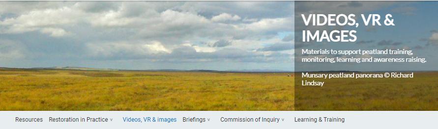 https://www.iucn-uk-peatlandprogramme.org/resources/videos-vr-images