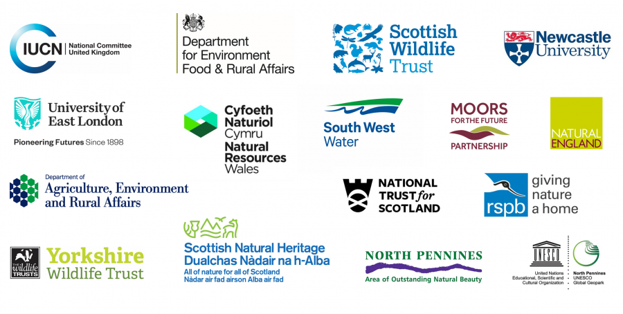 Organisations that make up the IUCN UK PP Steering Group