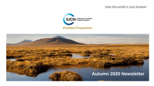 IUCN UK Peatland Programme Newsletter: Autumn Edition 2020