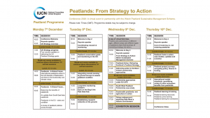 2020 IUCN UK PP Conference Programme Summary