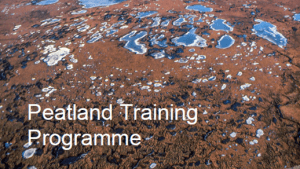 Peatland training programme - part 1