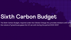Sixth Carbon Budget