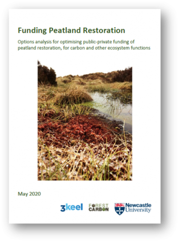 Funding peatland restoration report, May 2020