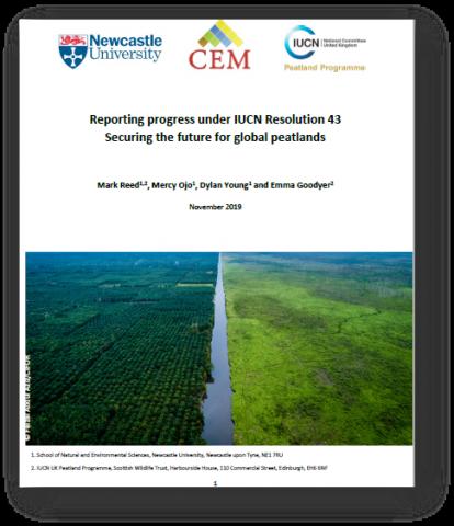 IUCN Resolution 43 Summary report