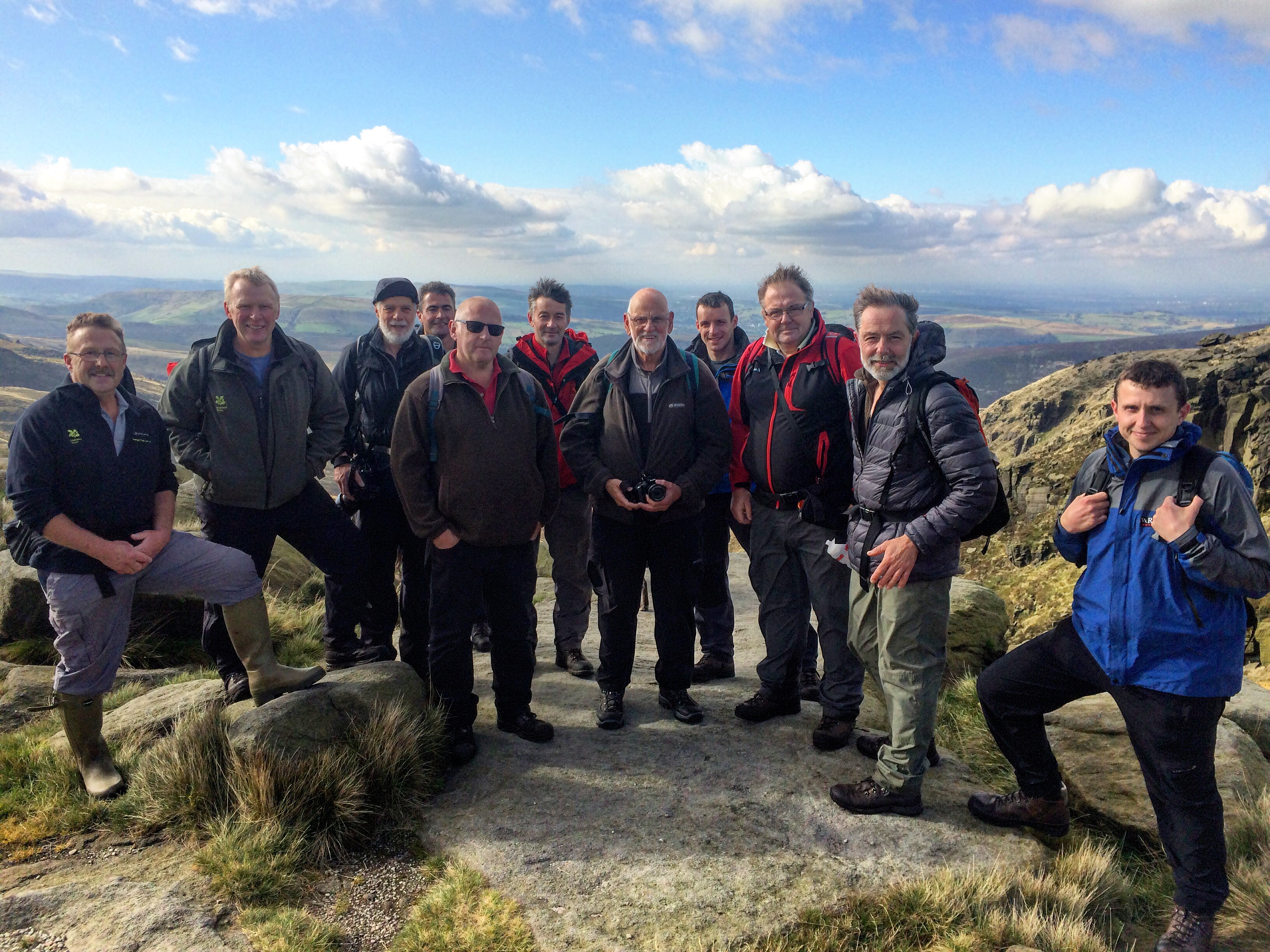National Trust Kinder Scout Wardens over the year - Credit Tom Harman