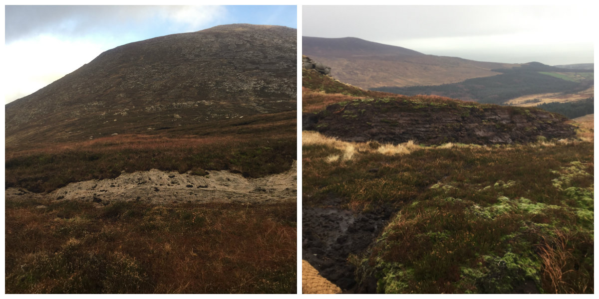 Binnian Lough and Binnian Lamagan Col (Healthy Heathland Project)