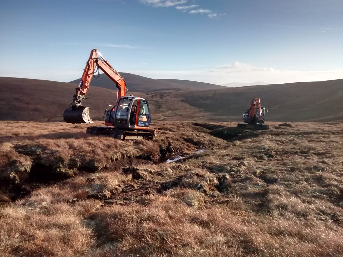 Gully reprofiling in Cairngorms National Park - Credit Stephen Corcoran